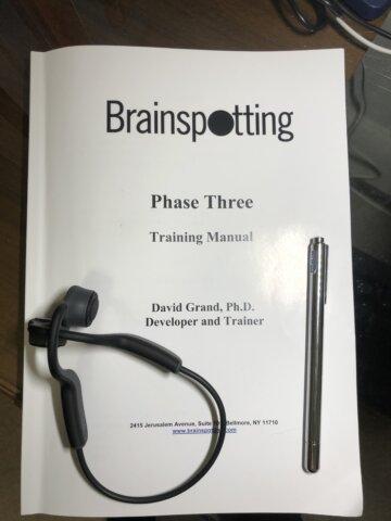 ブレインスポッティングのトレーニングPhase-3に参加しましたの画像